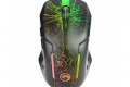 Mouse Marvo M 207 đen Led  ( USB )